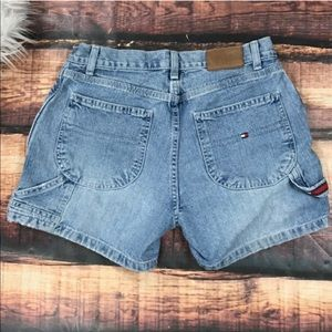 Vintage Tommy Hilfiger Carpenter Shorts Denim Jean